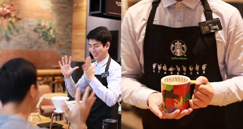 First Ever Sign-Language Starbucks Opens Up in China