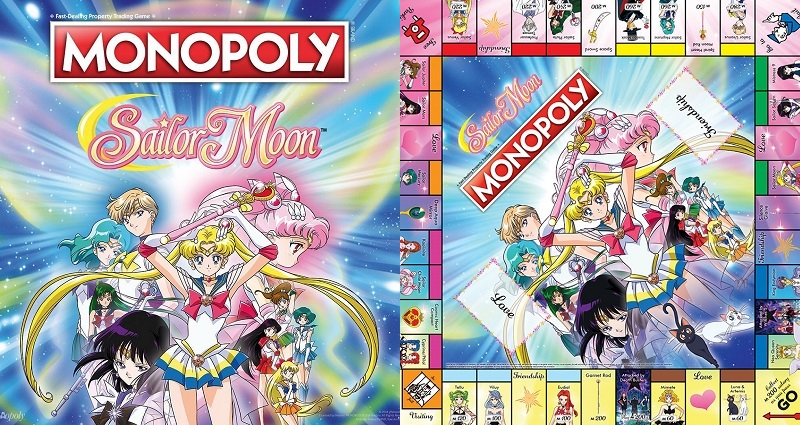 'Sailor Moon' Monopoly Board Game is Now Here to Destroy Friendships for $40