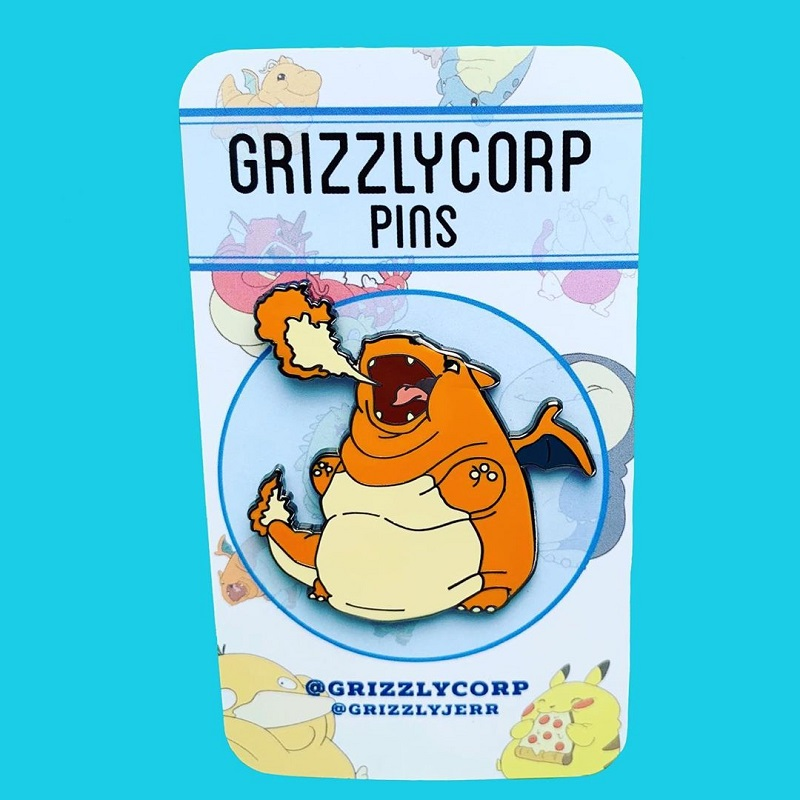 Jeremiah Cortez, the shop owner of Grizzlycorp, is giving everyone the cuteness overload with his incredibly adorable chubby Pokémon pins.