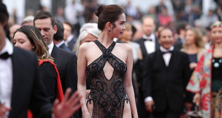 4888e511659e1 CANNES, FRANCE - MAY 19: Ngoc Trinh attends the screening of