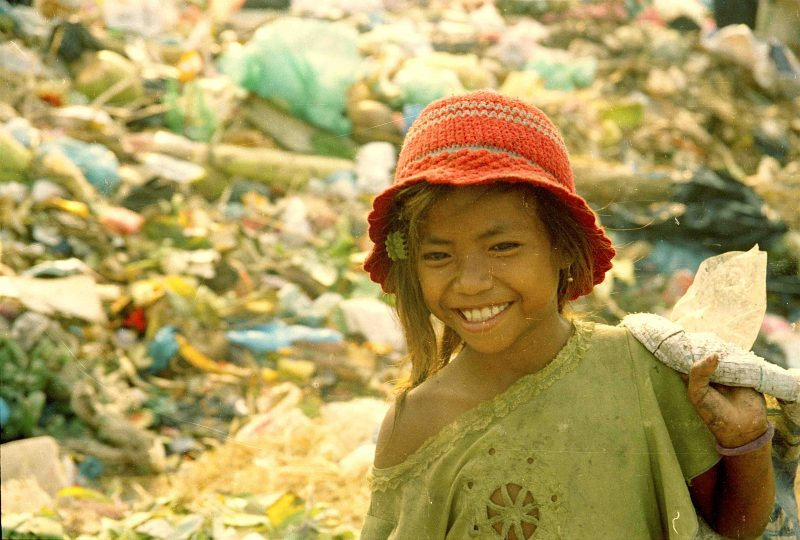 A young lady who toiled as a child at a garbage dump in Cambodia will soon attend the University of Melbourne on a full scholarship.