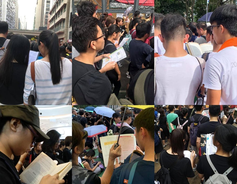 Organizers have estimated nearly two million people have participated in the mass protests taking place in Hong Kong against the controversial extradition bill.