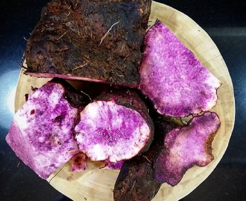 Locally known as ube (pronounced oo-beh), the Philippine purple yam first gained wide exposure in the US with the rise of Filipino restaurants including it in their menus.