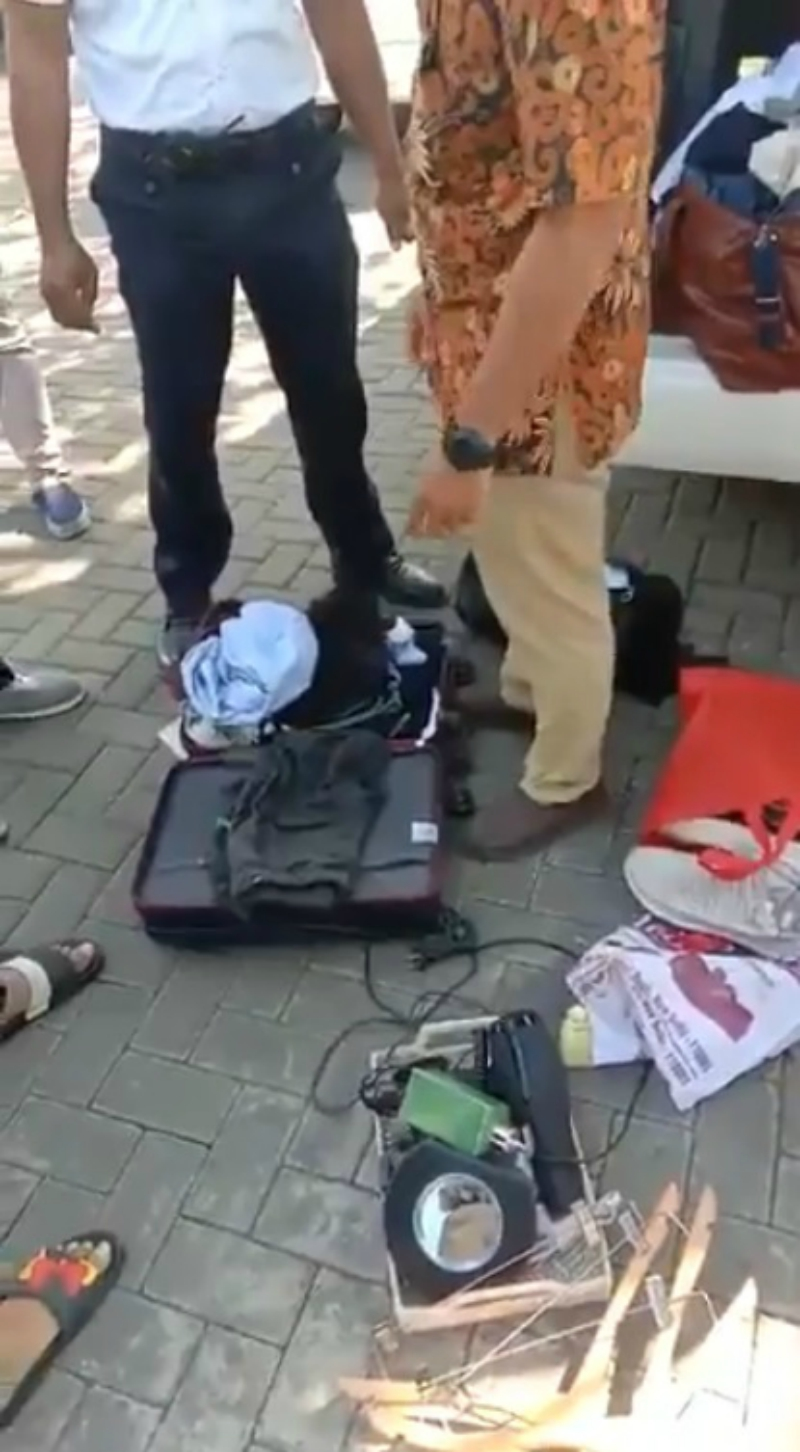 An Indian family has sparked national outrage after stealing accessories from a hotel in Bali, Indonesia last week.