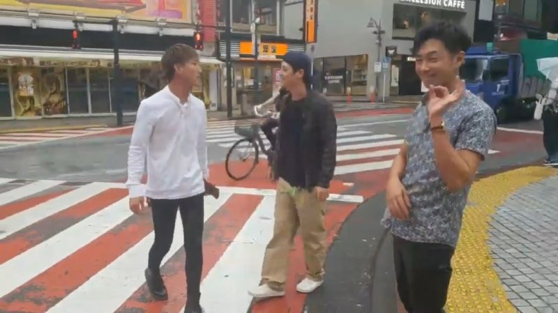A Twitch streamer had the shock of his life after catching a drunk man groping an unsuspecting woman in the streets of Japan.