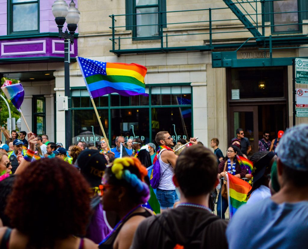"""Asian Americans flying the rainbow flag are treated as """"more American"""" by others as they are perceived to have """"effectively adopted American cultural values,"""" new research has found."""