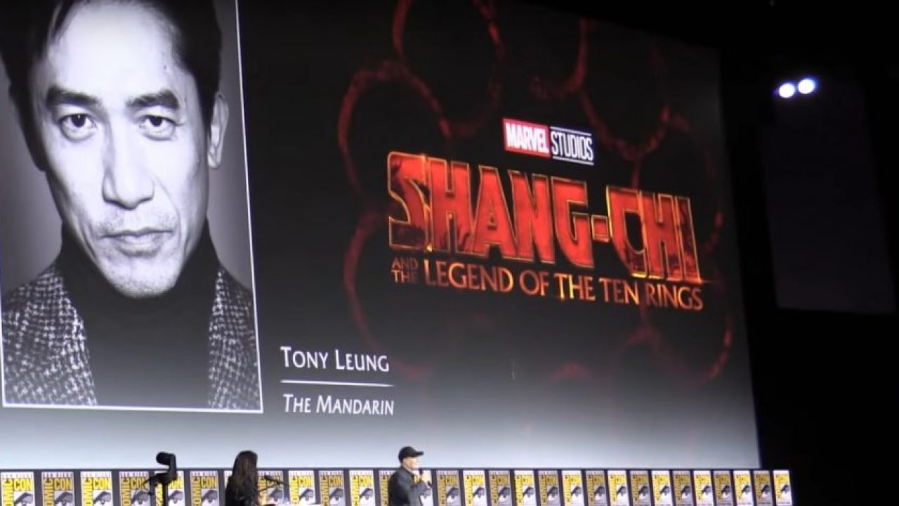 Shang chi and the ten rings
