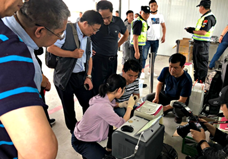 Chinese scientists have developed a portable drug detector that improves testing speeds from up to several days to a mere three seconds.