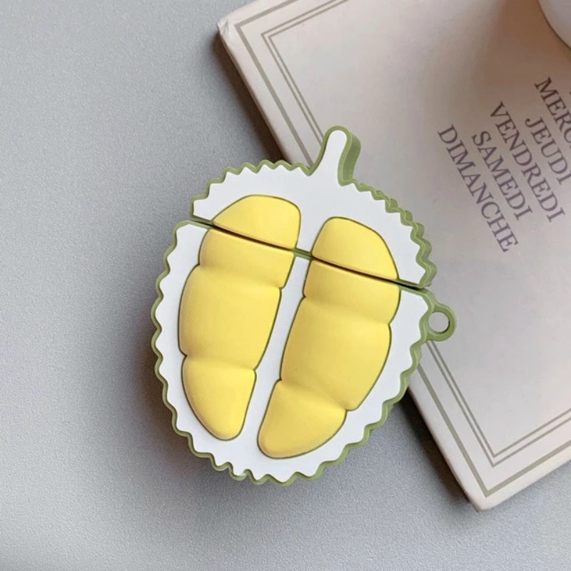 Check out Kawaii Nation's latest Durian AirPod case, a fitted container for Apple's AirPods and AirPods 2.