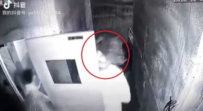 "A woman has expressed gratitude to her group of male friends for saving her from a chainsaw ""killer"" at a ""haunted"" escape room in Shaanxi province last October."