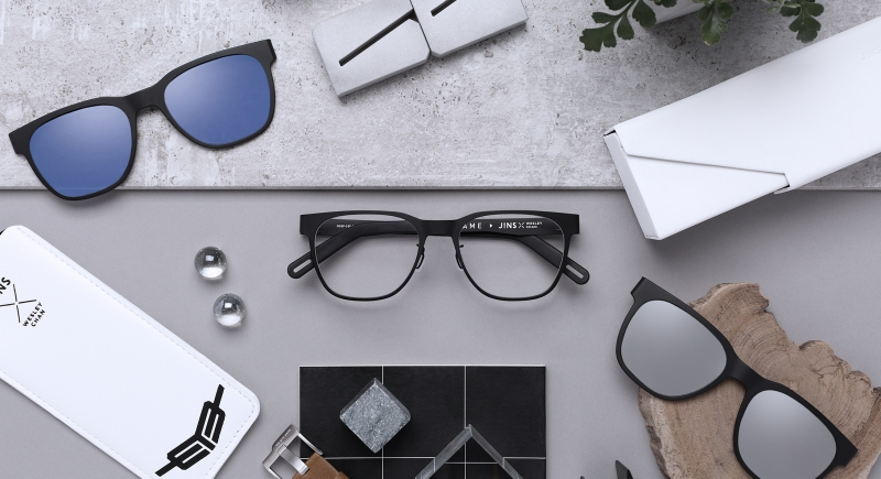 Japanese eyewear brand JINS has released a new collection in partnership with YouTuber Wesley Chan, one of the founding trio behind Wong Fu Productions.