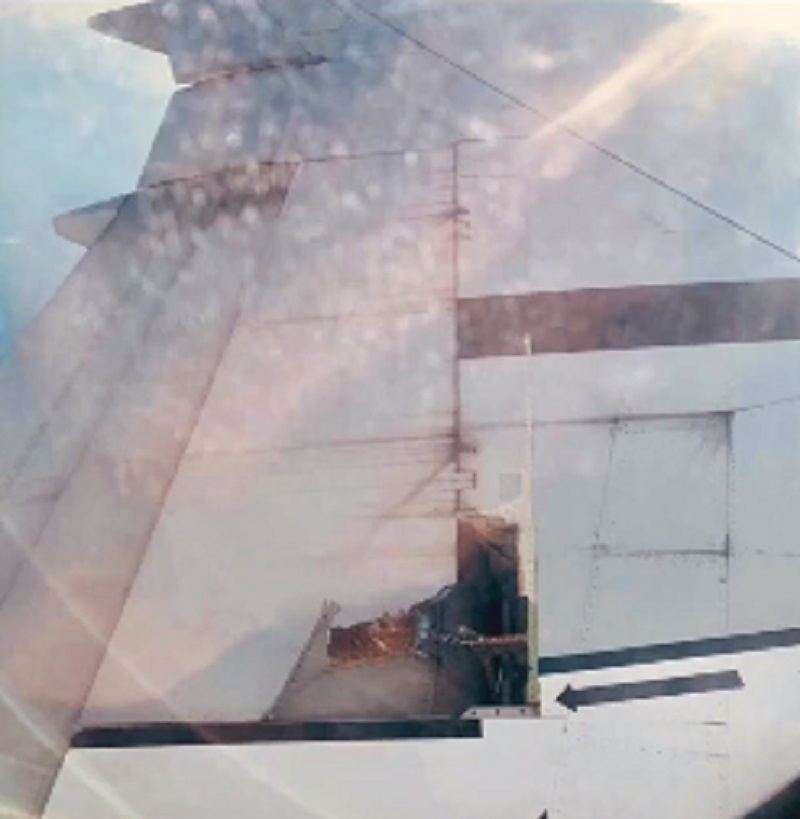 Some passengers on a recent China Eastern Airlines flight witnessed a shocking scene midflight when they noticed that the metal covering of the plane's wing had fallen off.