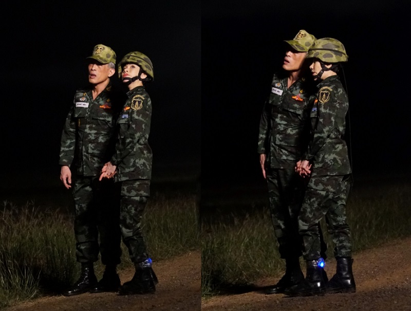 Thailand's Royal Palace has released photos of 34-year-old Major-General Sineenat Wongvajirapakdi to mark her new role as the king's royal consort on Monday.