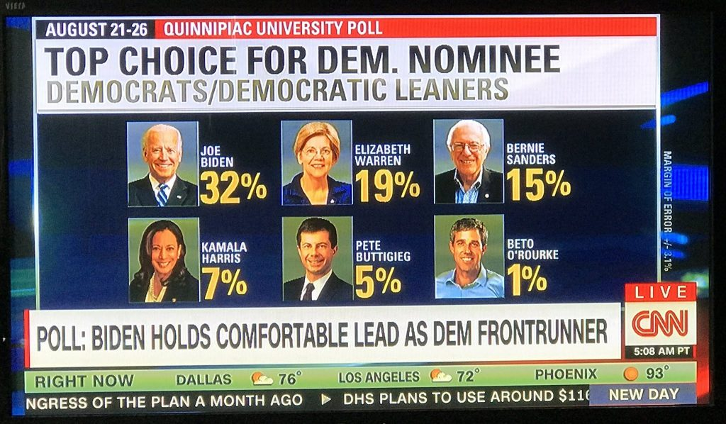 Last night, CNN was caught red-handed after omitting Andrew Yang from their national poll results graphic and was shortly accused of deliberately hiding the presidential hopeful from the public eye.