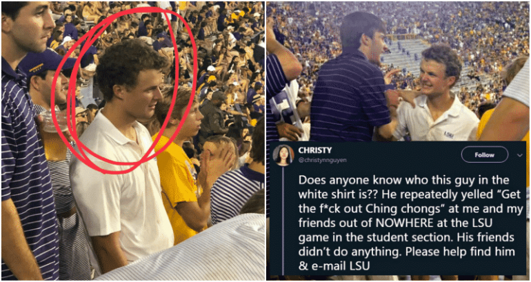 LSU Student Who Allegedly Called Asian Schoolmates 'Ching Chongs' Faces No Punishment