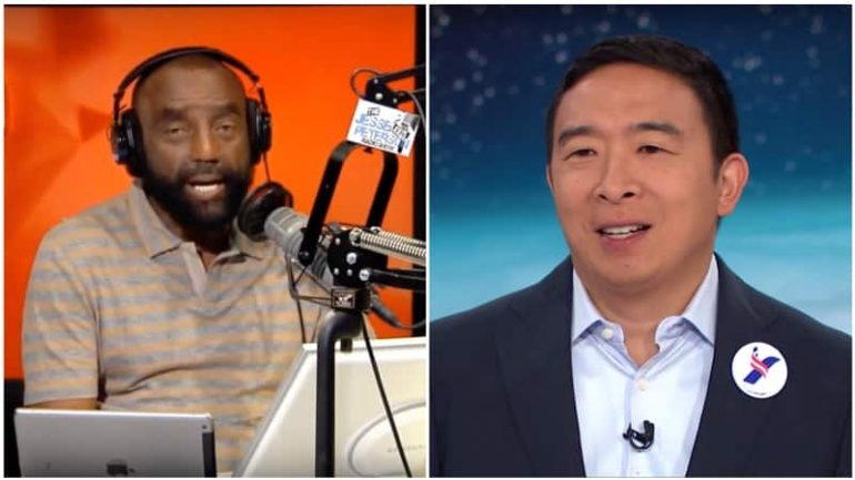 Radio Host Says Andrew Yang 'Should Go Back to China, or Wherever He Came From'