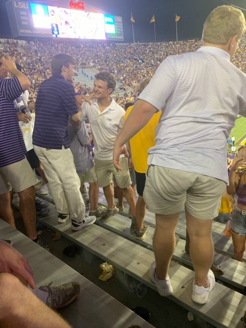 "A Louisiana State University (LSU) student accused of calling his Asian schoolmates ""Ching Chongs"" while demanding that they ""get the f*** out"" of a home football game is apparently getting away with his actions without facing any consequences."
