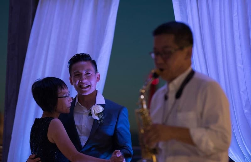 A recently-married Asian man shared on social media how his father eventually learned to accept his African wife.