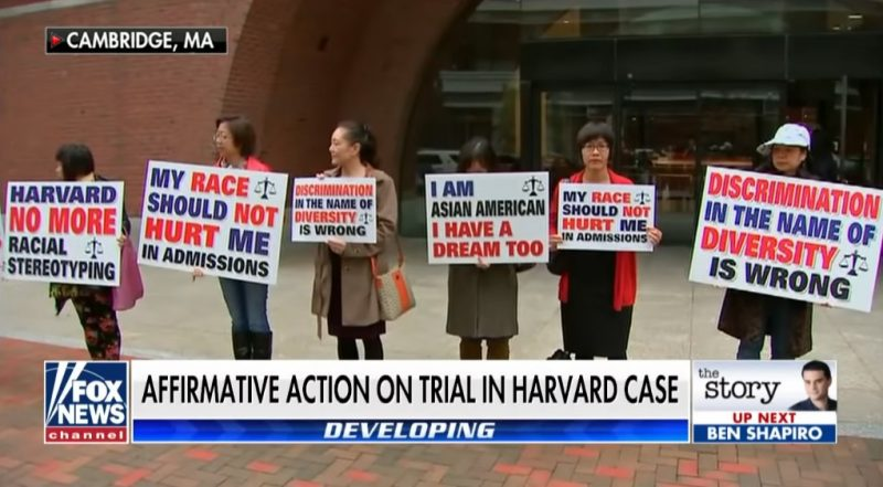 Harvard University does not discriminate against Asian Americans in its admissions process, a federal judge ruled on Tuesday.