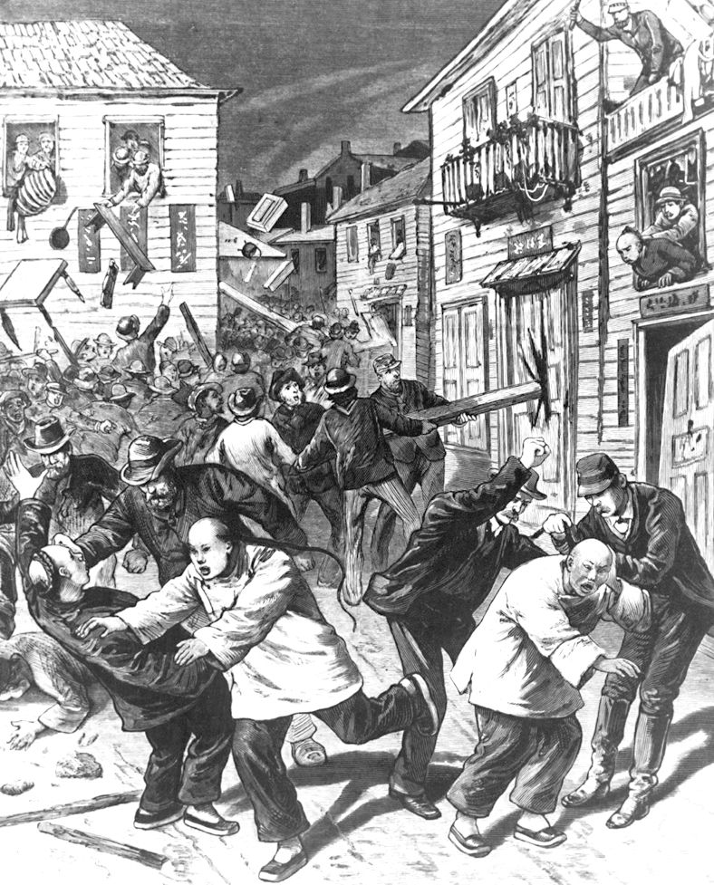 139 years ago, on this day, an argument broke out at John Asmussen's Saloon on Wazee Street between two Chinese patrons playing pool and some intoxicated White patrons. In the 19th century, this area of downtown Denver was known as Hop Alley — the city's Chinatown, with around 500 Chinese residents.
