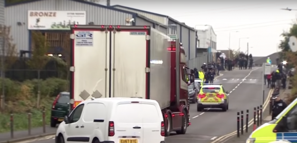 All 39 deceased — eight women and 31 men — discovered in a refrigerated truck trailer in Essex, England have been confirmed by British police to be Chinese nationals.