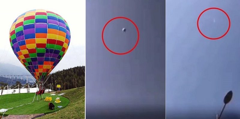 A hot air balloon ride went horribly wrong in China, taking the life of a mother and daughter.
