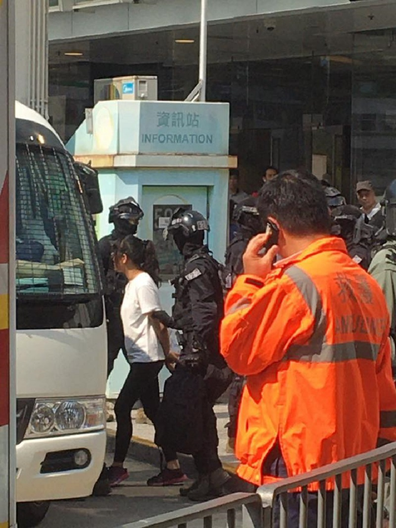 A video showing Hong Kong protesters being loaded onto a train has been causing major concerns as many reportedly believe they are being sent to China.
