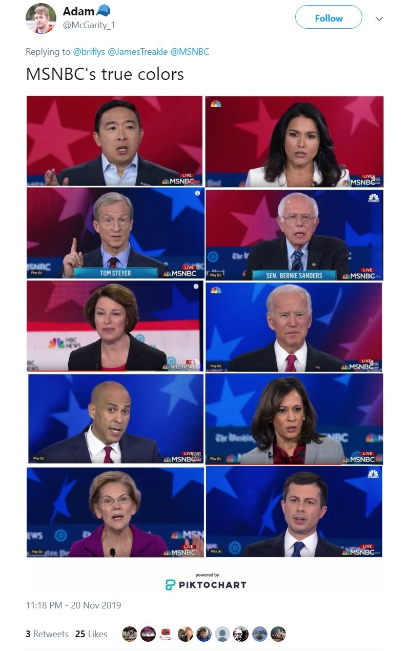 """A fundraising director for Andrew Yang criticized MSNBC for """"silencing"""" the latter in the latest Democratic presidential primary debate, describing the move as a case of """"systemic racism."""""""