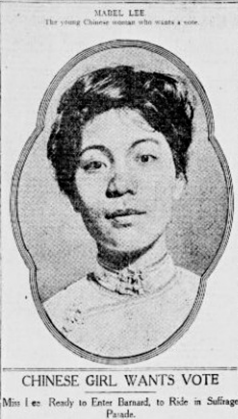 Born on Oct. 7, 1897, Mabel Lee was raised by her mother and grandfather in Guangzhou, China while her father worked as a missionary in the U.S. She studied at a local missionary school, where she learned English.