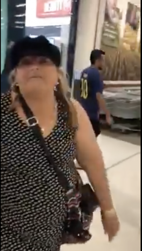 An Asian Australian family was harassed by a racist woman shouting expletives on Friday at the Westfield Carousel Shopping Centre in Perth.