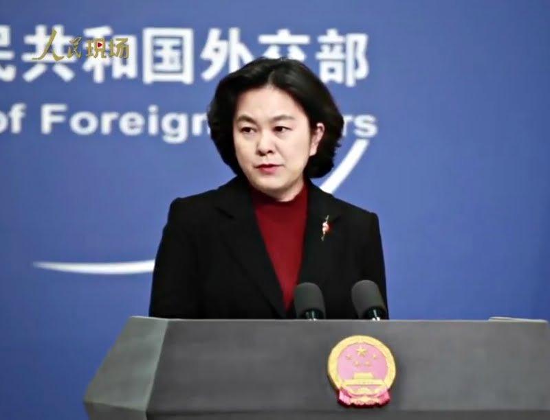The metaphor came in response to two recent articles from Western media outlets, which argued that fears of China's growing power have crossed over to the paranoid.