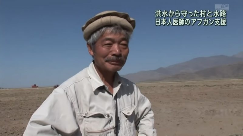 A Japanese doctor who brought canal-building techniques from his hometown to help irrigate arid areas in Afghanistan was killed by a group of gunmen in the eastern part of the country on Wednesday.