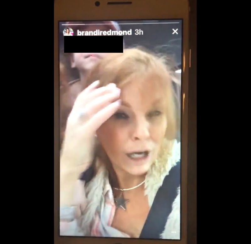 """""""Real Housewives of Dallas"""" star Brandi Redmond has been accused of racism after a video of her mocking Asians surfaced on Twitter last week."""