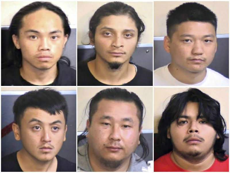 Six gang members were arrested for a shooting that took place at a house party in Fresno, California which killed four in November, police announced on Tuesday.