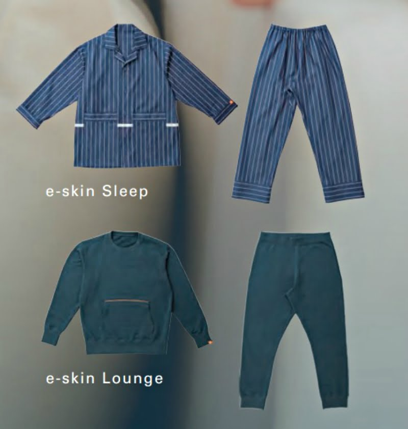 Smart pajamas that monitor vital signs and activity levels caught the attention of guests at the Unveiled event of the Consumer Electronics Show (CES) in Las Vegas on Sunday.