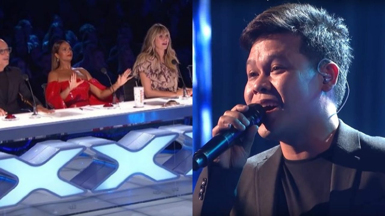 Filipino Singer Does An Entire Duet Song By Himself On Agt The Champions