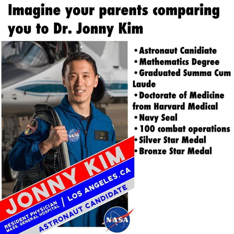 Meet Jonny Kim – The Man Every Asian Tiger Mom Compares You To
