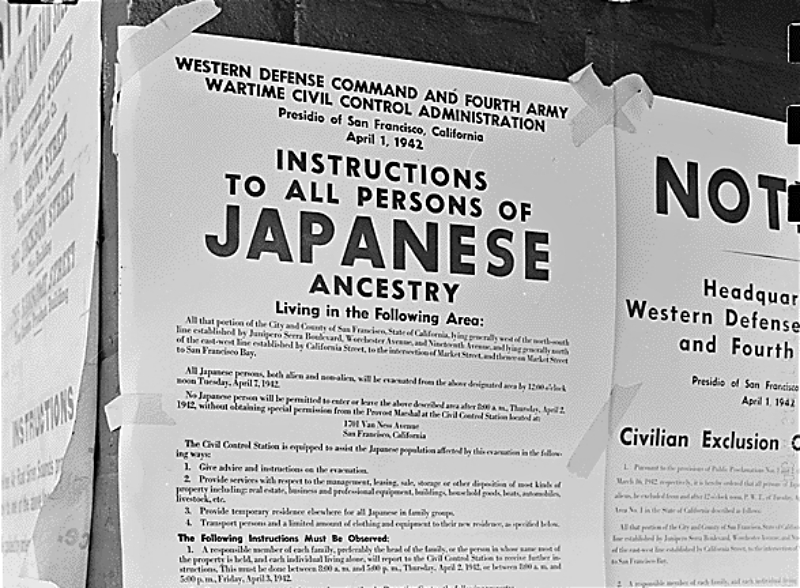 California Will Finally Apologize For Putting Japanese Americans in Concentration Camps During WWII