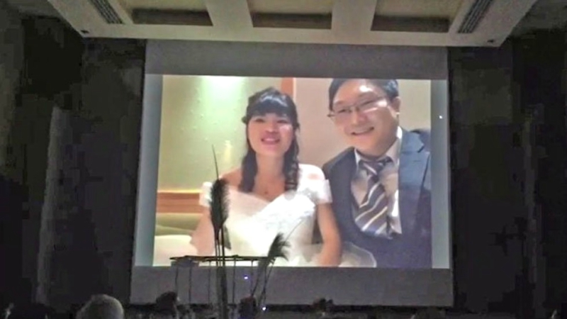A Singapore couple who recently went on a trip to China decided to push through their wedding upon coming back home