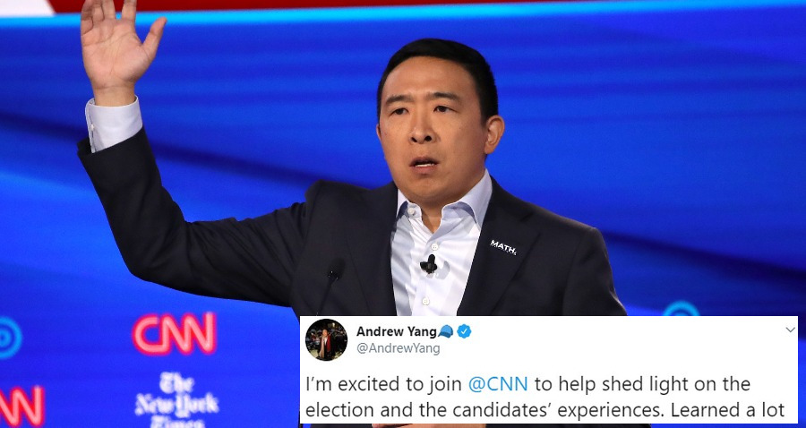 Andrew Yang is Joining CNN as Political Commentator