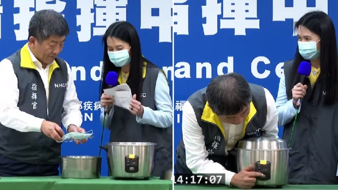 Taiwan Has a Brilliant Life Hack to Disinfect Face Masks Using ...