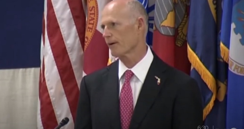 Republican Senator Rick Scott Accuses Every Chinese Citizen of Being a 'Communist Spy'