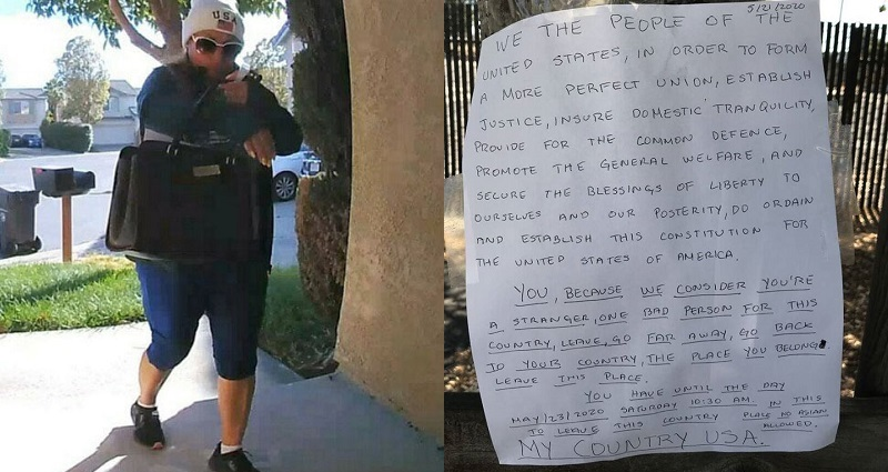 'No Asians Allowed': Woman Arrested for Posting Hateful Letters Targeting Asians in San Leandro