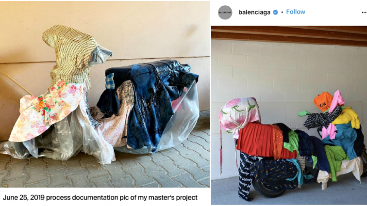 I M Not Your Moodboard Balenciaga Accused Of Appropriating Vietnamese Designer S Work