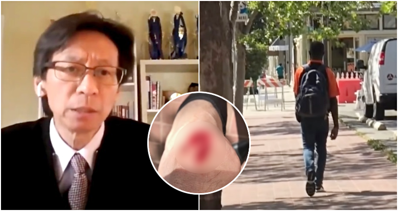 Carl Chan, president of Oakland's Chinatown Chamber of Commerce, was allegedly attacked by James Lee Ramsey on April 29, 2021.