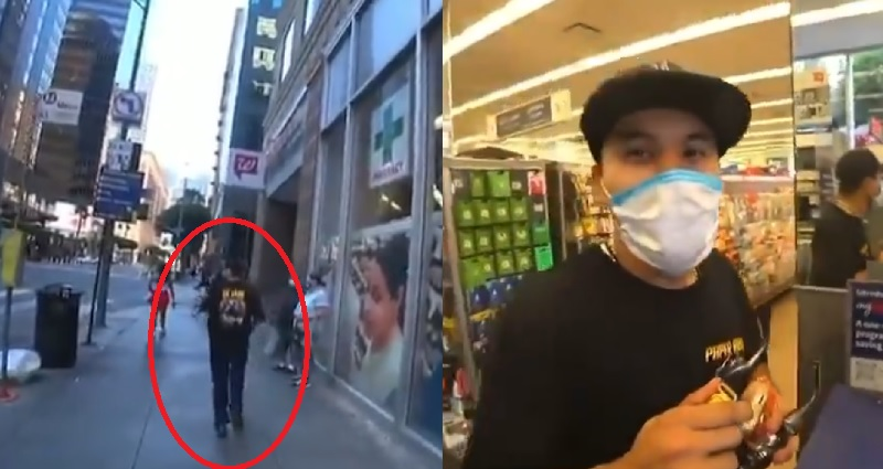 Twitch streamer JoeyKaotyk confronts racist in store during livestream