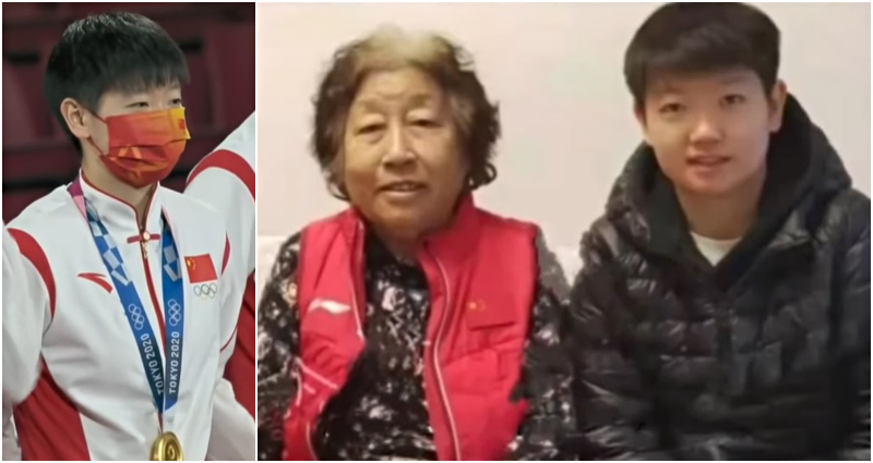 Sun Yingsha wasn't told about grandmother