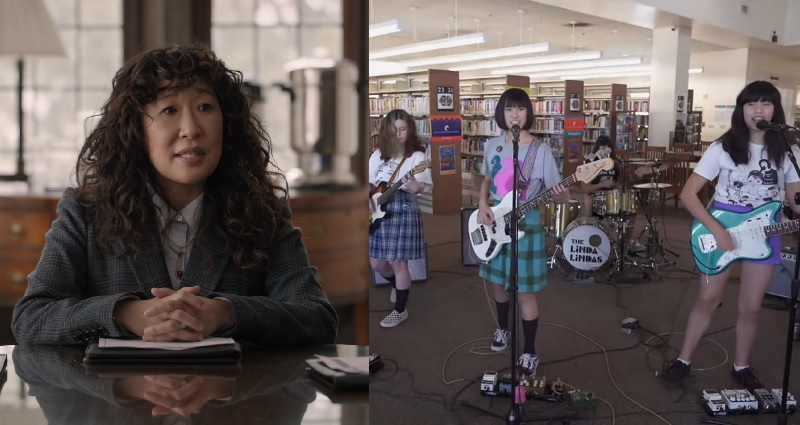 Sandra Oh interviewed by The Linda Lindas