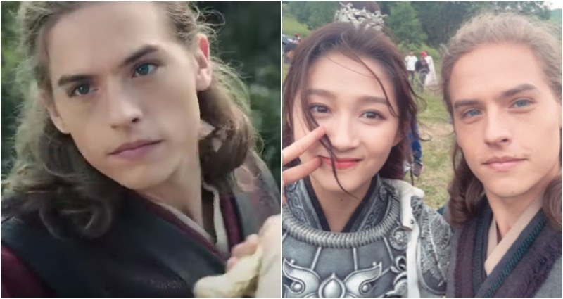 Dylan Sprouse stars in Chinese film