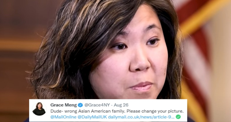 Daily Mail mistook Asian family as Rep. Grace Meng